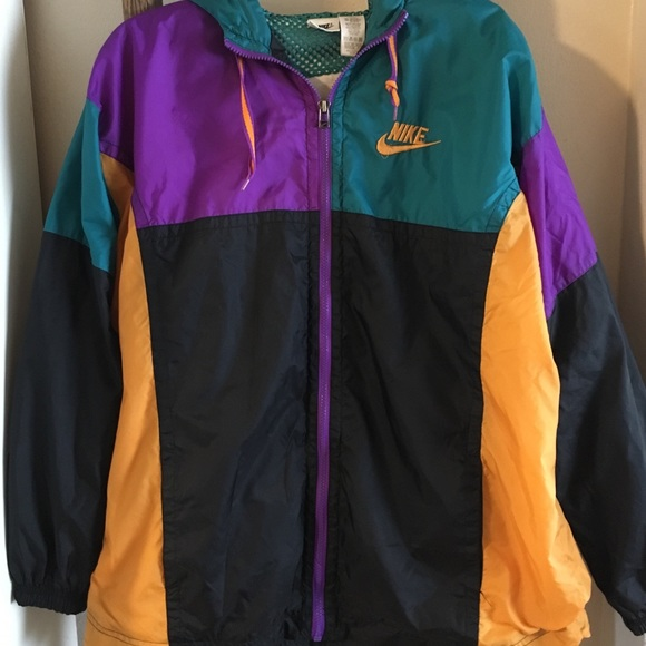 6590c382afdd Vtg Mens Nike Colorblock Windbreaker Jacket Small.  M 5b633492dcf8556db1e19b9d